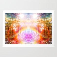 Become Art Print