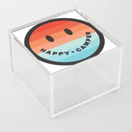 HAPPY CAMPER Acrylic Box
