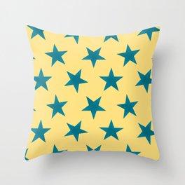 Stars 23 Throw Pillow