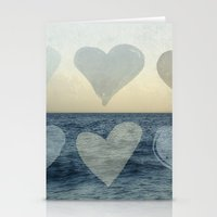 hearts Stationery Cards featuring Hearts by Pure Nature Photos