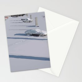 Lonely Shadows Stationery Cards