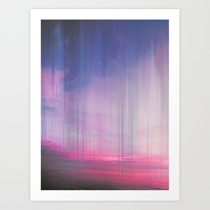 When the Sky falls Down Art Print by cafelab