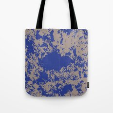 mauer fleck Tote Bag