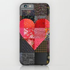 Patched Heart iPhone 6 Slim Case