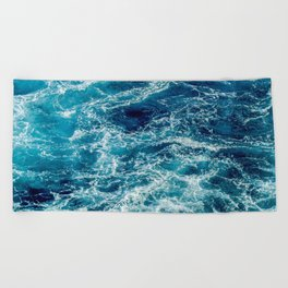 Tough Times Are Temporary Beach Towel
