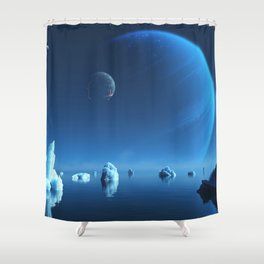 Caerulea Shower Curtain