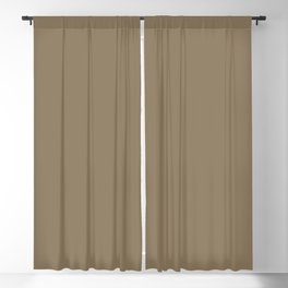 From The Crayon Box – Shadow Brownish Gray Solid Color Blackout Curtain