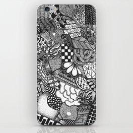 Doodle 6 iPhone Skin