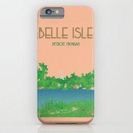 Belle Isle, Detroit iPhone Case