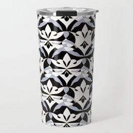 Interwoven XX - Black Travel Mug