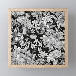 FLORAL GARDEN 5 Framed Mini Art Print