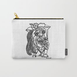Pablo Picasso Weeping Woman 1937 Crying, Artwork Sketch Reproduction Design For Men, Women, Kids, Ts Carry-All Pouch