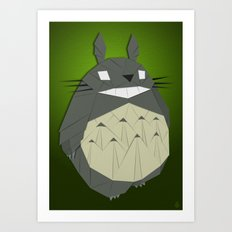 Totorigami Art Print