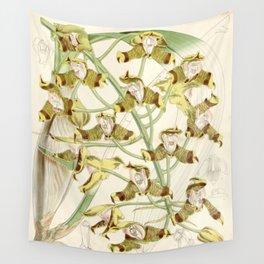 Grammangis ellisii 'Orchid' 1860 Wall Tapestry