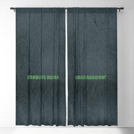 starbucks resident Blackout Curtain
