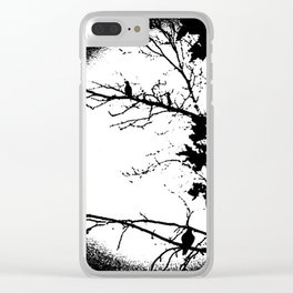 Hang Time Clear iPhone Case