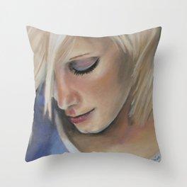Forever a wallflower Throw Pillow