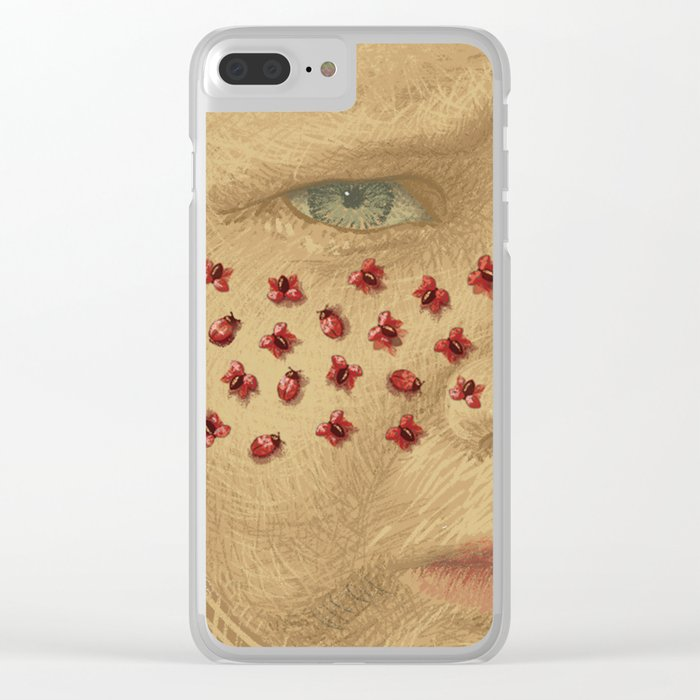 Ladybugs Clear iPhone Case