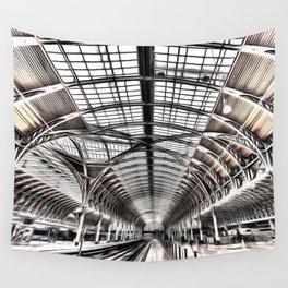 Paddington Railway Station London Wall Tapestry