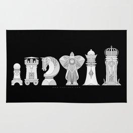 Modernist Chess Rug