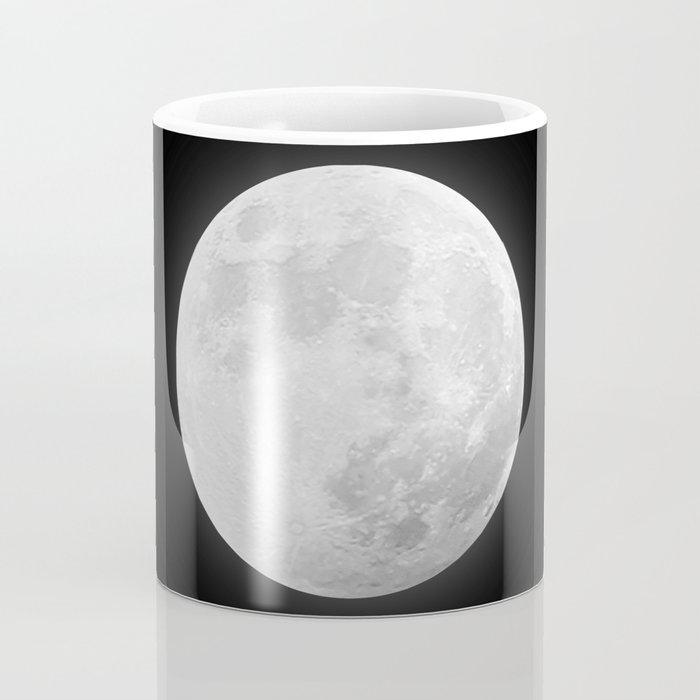 CHALK WHITE MOON Coffee Mug
