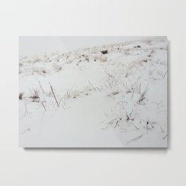 Atop mountains Metal Print