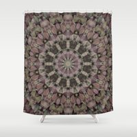 antique Shower Curtains featuring Antique Country by Deborah Janke