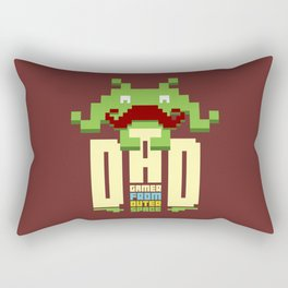 Gamer dad from outer space Rectangular Pillow