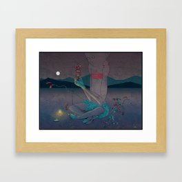 Mushkid Framed Art Print