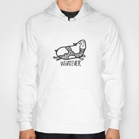 whatever Hoodies featuring whatever by Pardabon