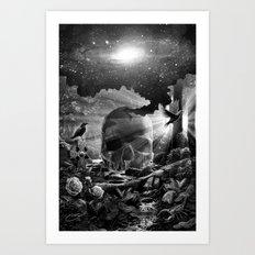 XIII. Death & Rebirth Tarot Card Illustration (Alternative Version) Art Print