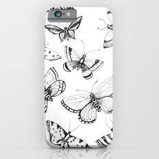 Butterflies and moths Slim Case iPhone 6s