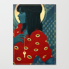 Three of Swords Canvas Print