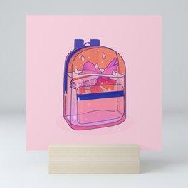 Schoolbag Aquarium  Mini Art Print