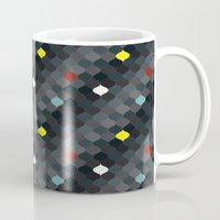 persian Mugs featuring Persian mosaic by Vannina
