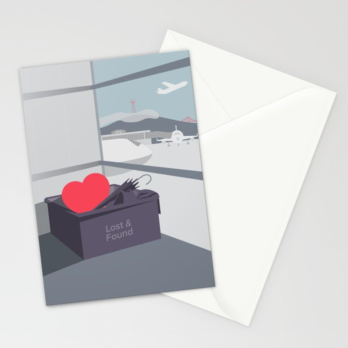 Left my Heart in San Francisco Stationery Cards