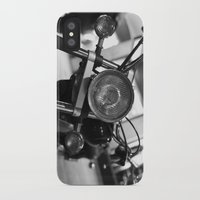 motorcycle iPhone & iPod Cases featuring Motorcycle by James Tamim