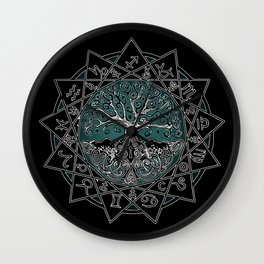 Gate & Key: Sidereal 13 Sign Astrology Wall Clock