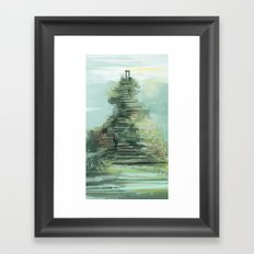steps of life Framed Art Print