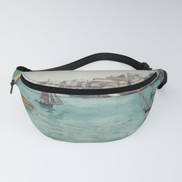 Boats on the lake Fanny Pack