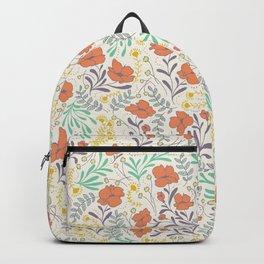 Colorful Peonies Backpack