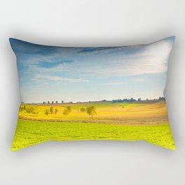 Keep calm and love green Landscape Rectangular Pillow