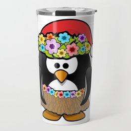 Christmas in July Penguin Travel Mug