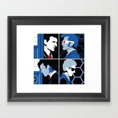 The 4 Doctors (2005-2018) Framed Art Print