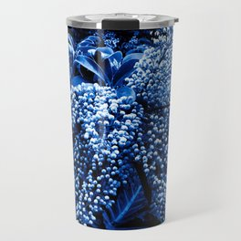 Botanica blue Travel Mug