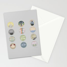EVAK: A MINIMALIST LOVE STORY VOL. II Stationery Cards