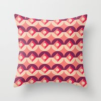 coraline Throw Pillows featuring Coraline by Jade Raykovski
