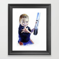 Young Jedi Rowan Framed Art Print