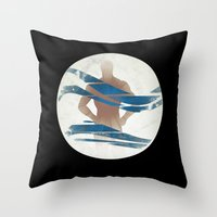 pixies Throw Pillows featuring Wave of Mutilation by Ryan W. Bradley