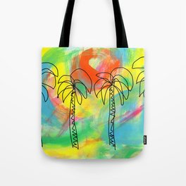Palm Trees Wish You the Best Tote Bag